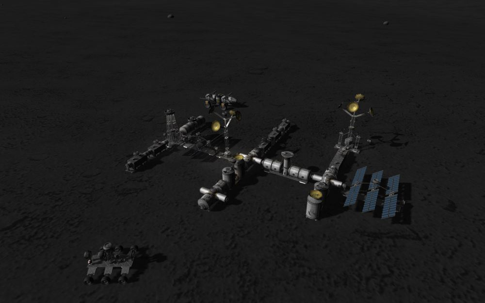 Mun Base finished - The Spacecraft Exchange - Kerbal Space ...